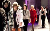 Fashionopolis: group of women on runway