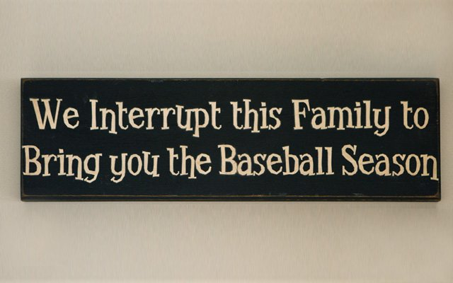 This sign hangs in the stairwell, enough said.