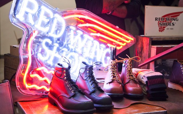 Red Wing boots at Northern Grade Minneapolis 2013