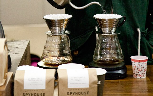 Spyhouse Coffee Booth at Northern Grade Minneapolis 2013