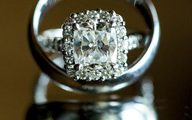 Bride and Groom's wedding rings