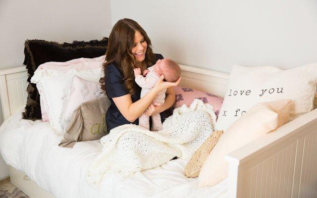 Amanda Kautt and daughter Ava