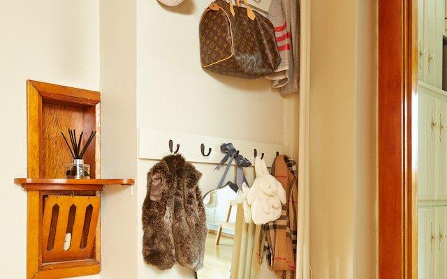 Amanda and Jay Kautt - coat hangers near the door