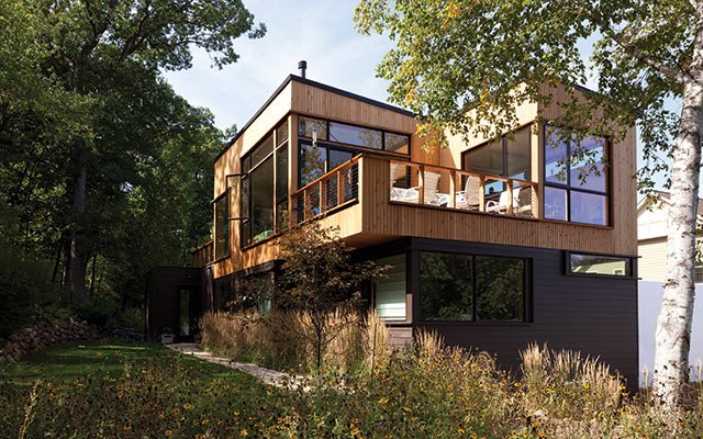 Lisa Goodman and Ben Horn House