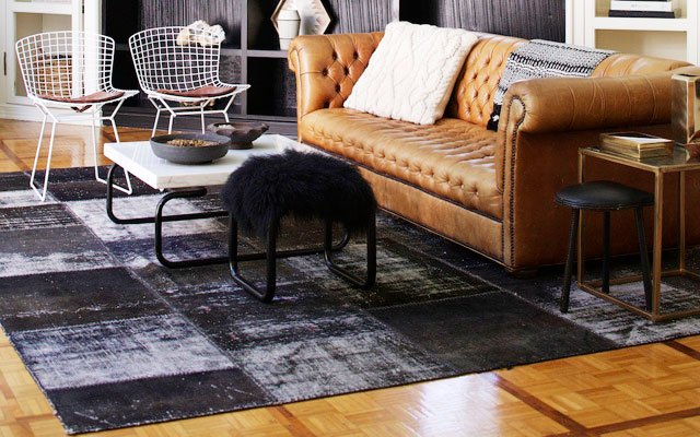 Nate Berkus Leather couch