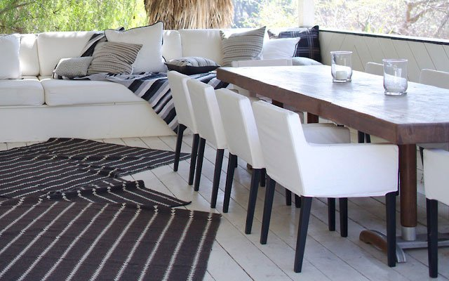 Nate Berkus Dining table and chairs