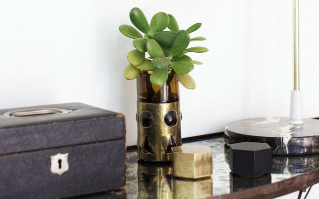 Nate Berkus Lockbox and plant detail