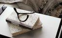 blanket, wishbone and books