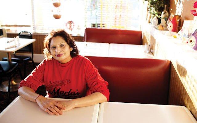 Marla Jadoonanan of Marla's Caribbean Cuisine
