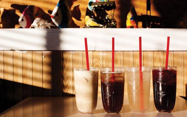 Sodas at Marla's in Minneapolis.