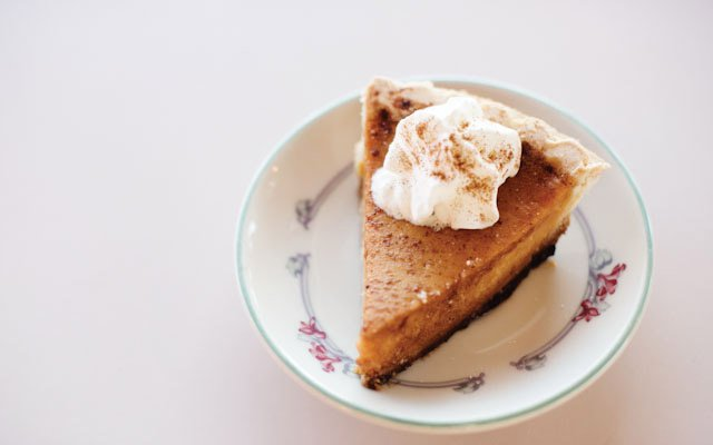 Pie at Marla's in Minneapolis.