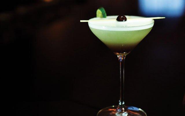 Cocktail at La Belle Vie in Minneapolis.