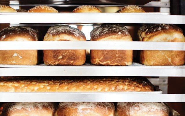 Bread rack.