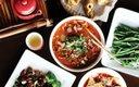 Food at Grand Szechuan.