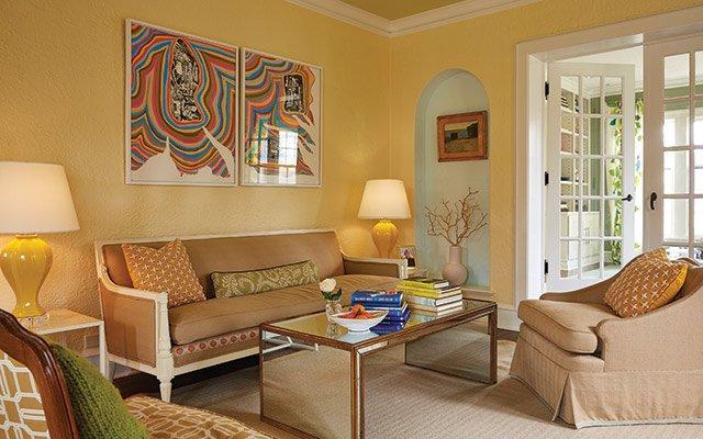 Elizabeth Foy Larsen living room