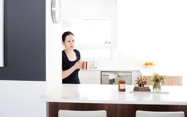 The kitchen of Honeyshine's Adam Braun