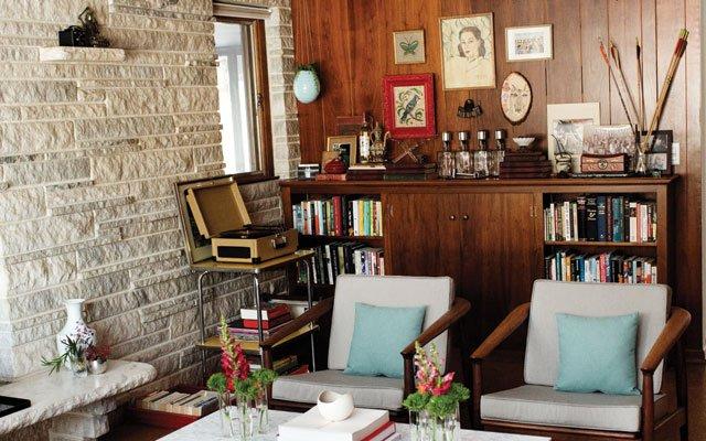 The basement of Honeyshine's Adam Braun