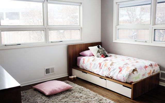 Honeyshine owner Adam Braun's daughter's room