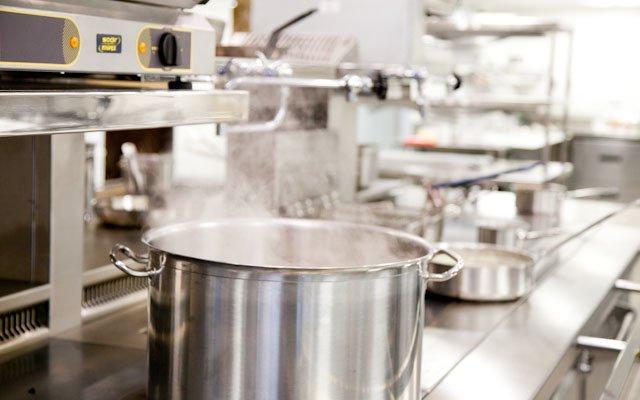 Brasserie Zentral pots