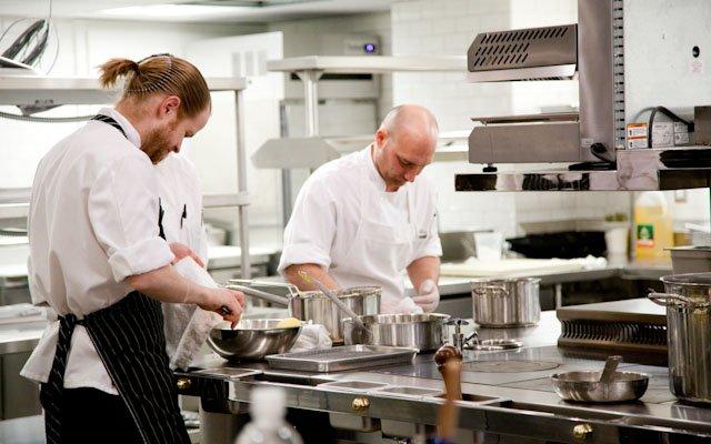 Brasserie Zentral chefs