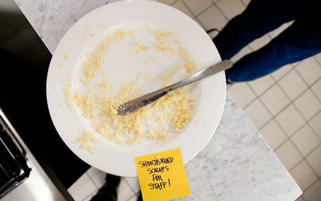 Shortbread Crumbs at Brasserie Zentral