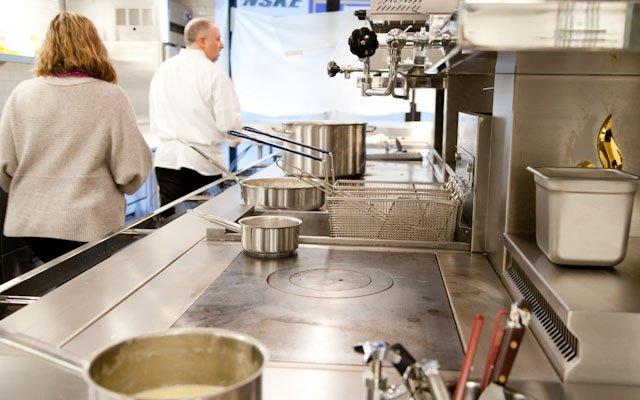 Chef Klein at Brasserie Zentral
