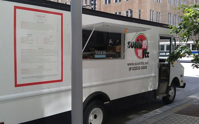 Sushi Fix sushi food truck