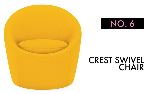 Crest Swivel Chair Room & Board