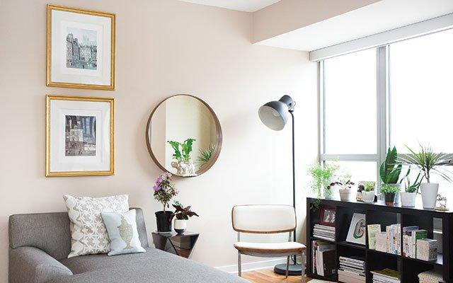 Megan Gonzalez's living room