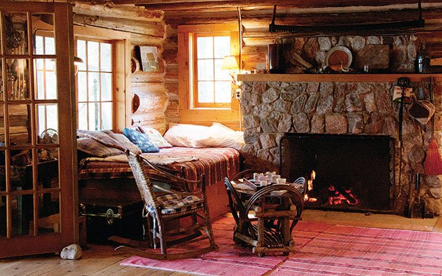 Towle cabin on Madeline Island