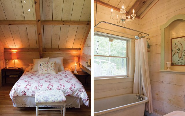 Rustic cabin on Madeline Island