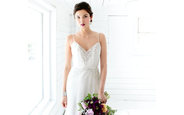 Alvina Valenta and Cheryl King Couture wedding dresses