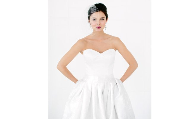 Martina Liana wedding dress with pockets