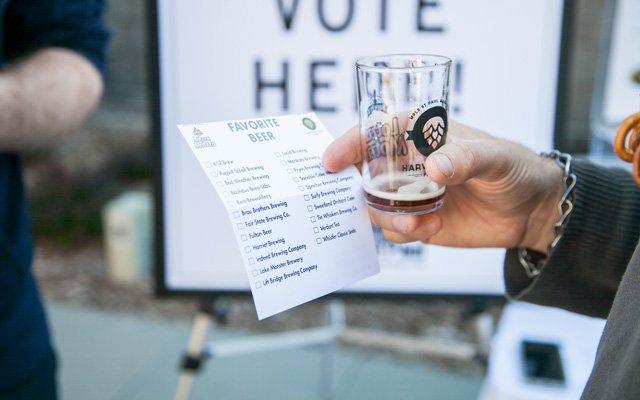 Harvest Beer Fest voting