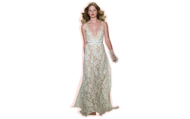 Take The Plunge Wedding Dress Trends The Best Of The