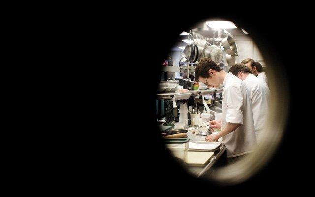 Peering inside the kitchen of La Belle Vie restaurant