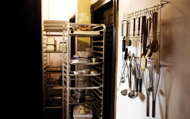 The kitchen of The Strip Club in St. Paul