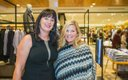 Blythe Brendan and Heidi Libera at the Nordstrom openin...