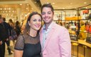 Lindsey Rymer and Eddie Rymer at the Nordstrom opening ...