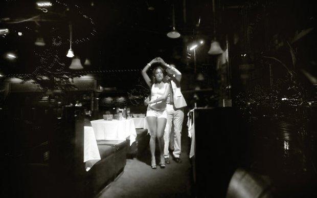 Dancing at Loring Pasta Bar