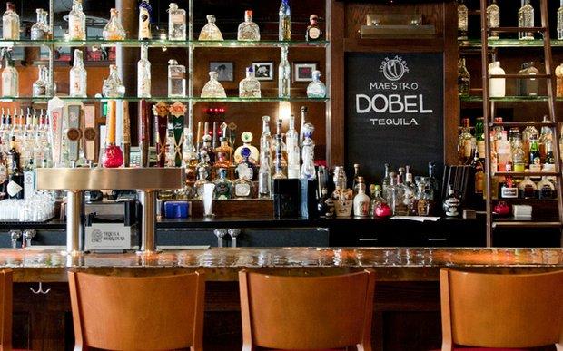 The bar at Barrio | photo by Caitlin Abrams