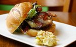 Wild Acres Turkey Burger at Be'Wiched Deli