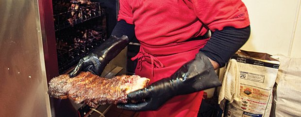 Beef ribs at Big Daddy's BBQ
