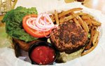 Burger at Buster's on 28th