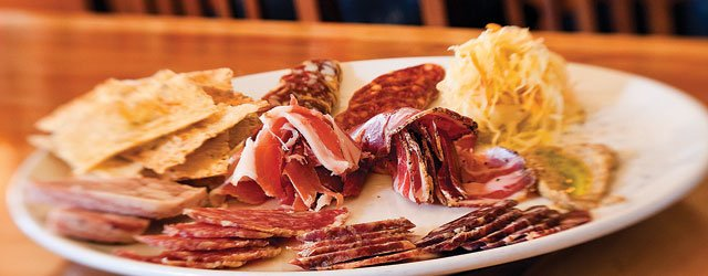 Charcuterie at The Craftsman Restaurant