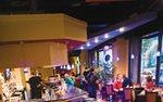 Interior of Dancing Ganesha restaurant in downtown Minneapolis