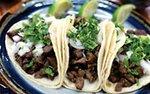 Tacos at El Burrito Mercado