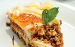 Carrot cake at Faces Mears Park