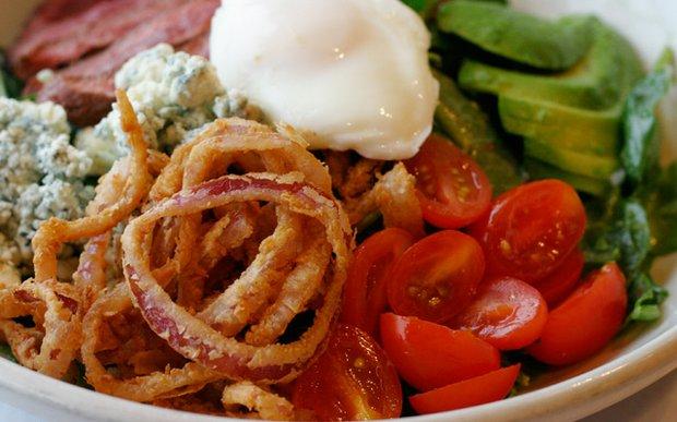 Steak cobb salad at Good Day Cafe