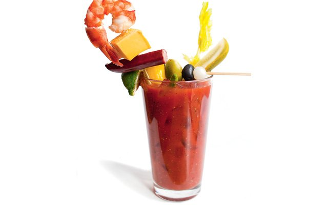Bloody Mary from Ike's Food & Cocktails
